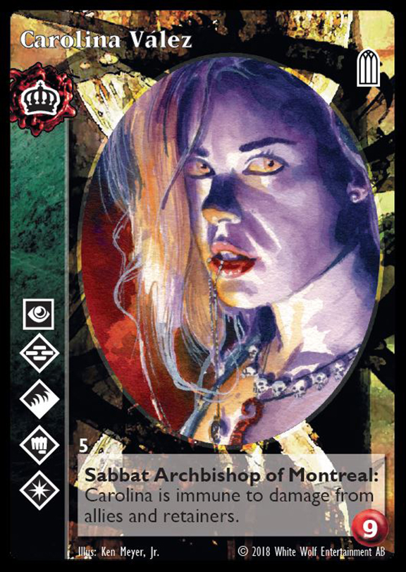 Product: Parliament of Shadows - Black Chantry Productions