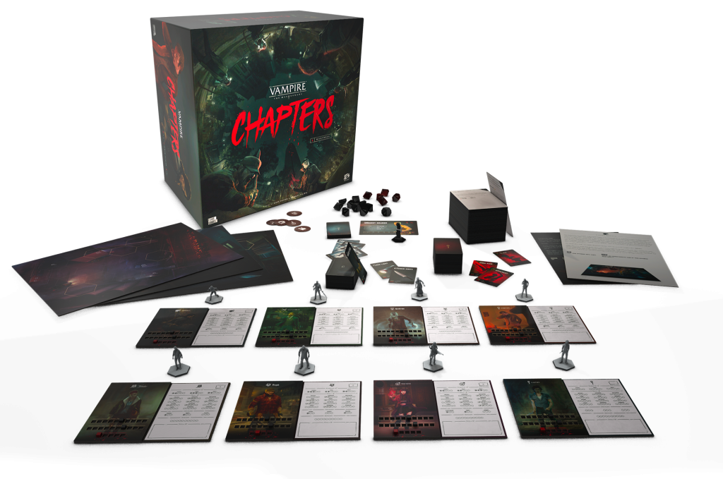 Vampire The Masquerade CHAPTERS